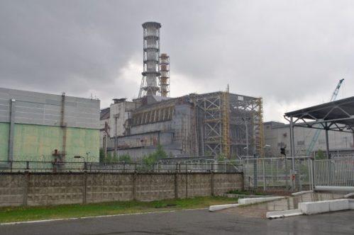 V Černobylu byla vybudována solární farma