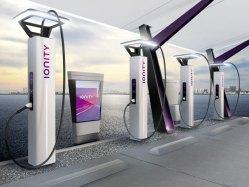 Nabíjecí stanice Ionity najdete u čerpacích stanic Shell