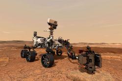 Rover, který poletí na Mars, má své jméno