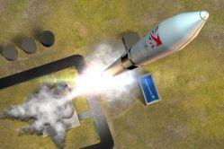 První vertikální vypuštění satelitu se blíží