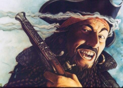 """Pirát Černovous žádný velký """"kanón"""" nebyl"""