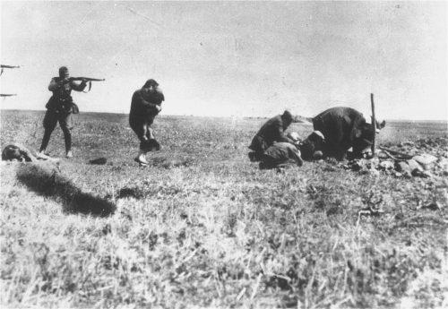EXECUTIONS OF KIEV JEWS BY GERMAN ARMY MOBILE KILLING UNITS, 1942