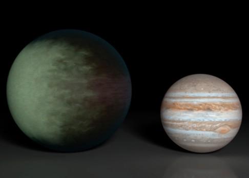 Nad Keplerem zataženo