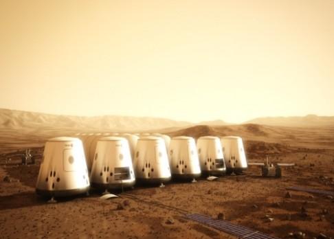 Kolonizace Marsu: Vstupní fáze