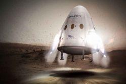 Red Dragon přistane na Marsu nejdříve v roce 2020