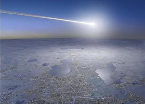 Kus Čeljabinského meteoru vyloven