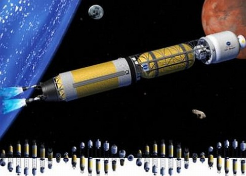První jaderný raketový pohon