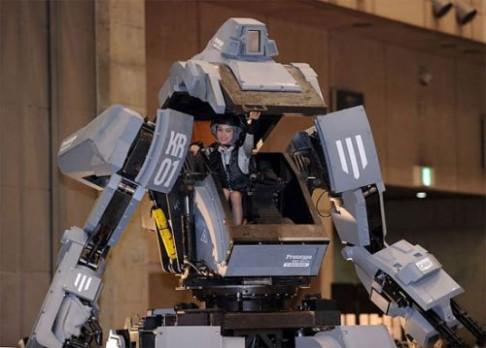 Robot, který vám vystřelí úsměv