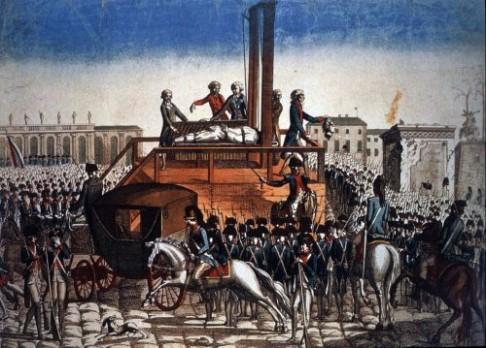 Kapesník s krví Ludvíka XVI.