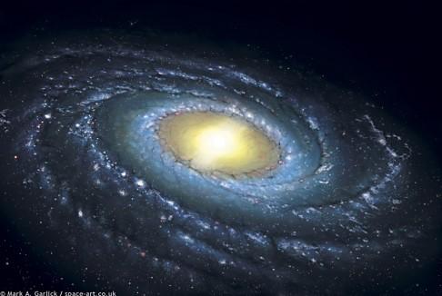 Mléčná dráha vstupuje druhé poloviny života