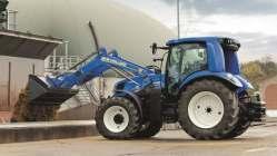 Traktor poháněný metanem