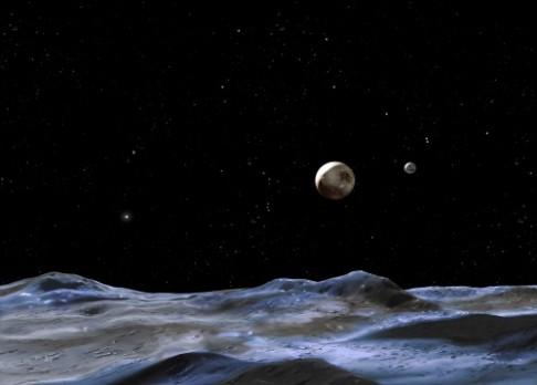 Existuje na měsíci Pluta voda?