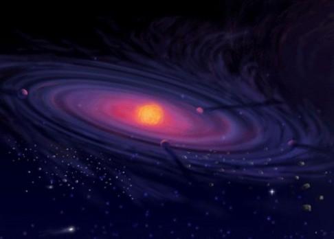 Hvězdná porodnice vznikla 30 milionů let před Sluncem