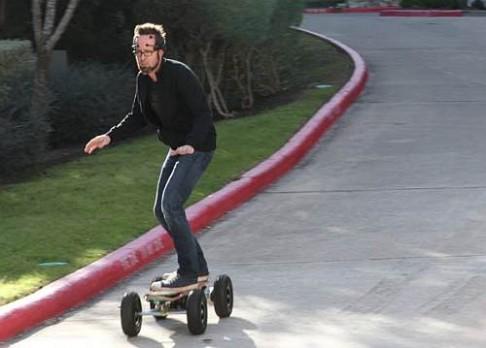 Mozkové vlny ovládají skateboard