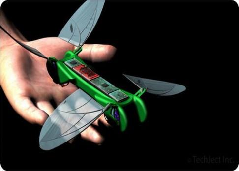 Létajícího robota inspirovala vážka