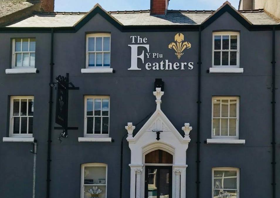 New website for the Three Feathers