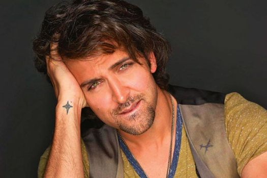 Hrithik Tattoo on Right wrist