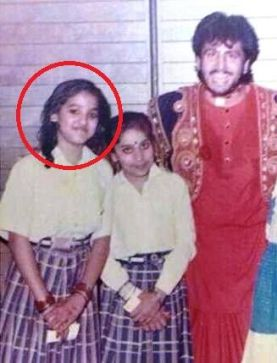 Justice Mohan with Gurudas Manu during his school days