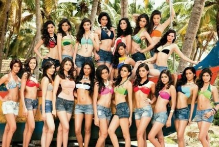 Sonam Bajwa is the finalist of the 2012 Femina Miss India pageant