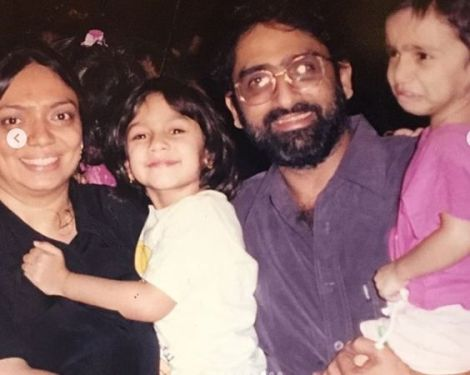 Sharmin Segal with her family