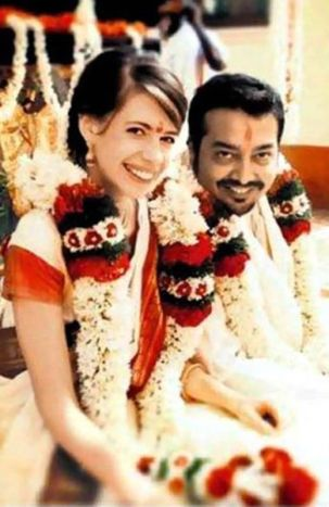 Anurag Kashyap with His Second Wife