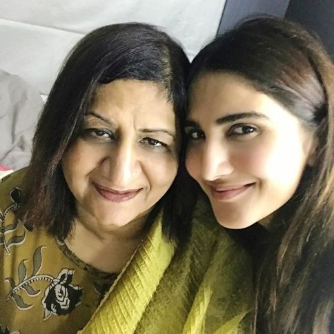 Vaani Kapoor with Her Mother