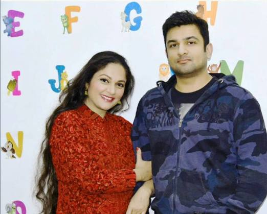 Gracy Singh with Her Brother- Rubal