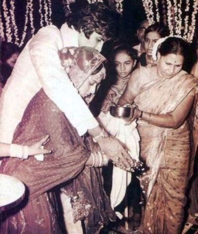 Jaya Bachchan and Amitabh Bachchan's Marriage Picture