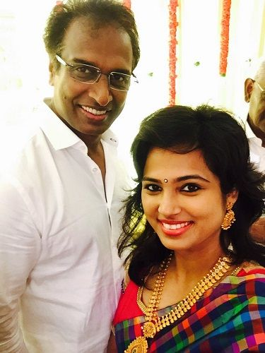Ramya Pandian and her uncle