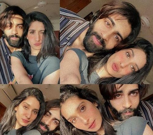 Anmol Dhillon with his sister