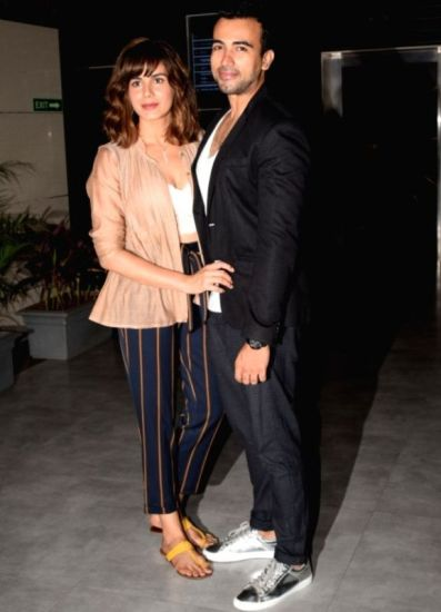 Saahil Sehgal with his wife