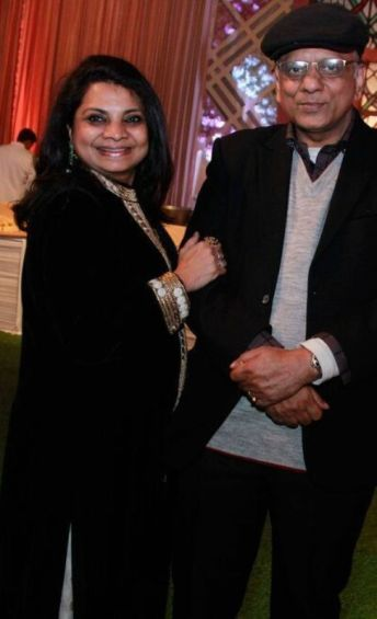 Dr. K. K. Aggarwal with his wife, Veena Aggarwal