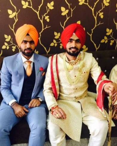 Simranjeet Singh with his brother (Satinder)