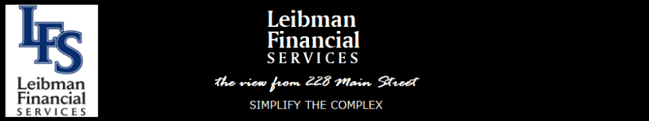 Leibman Financial Services - the view from 228 Main St