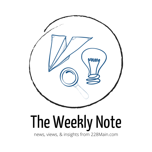 The Weekly Note news, views, insights logo (3)