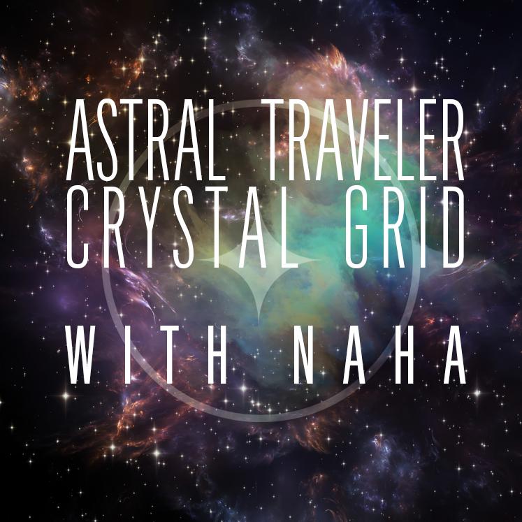 Feb 2nd 222 Astral Traveler Crystal Grid $65