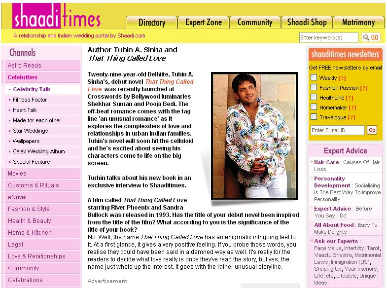 Shaaditimes.com Interview part 1