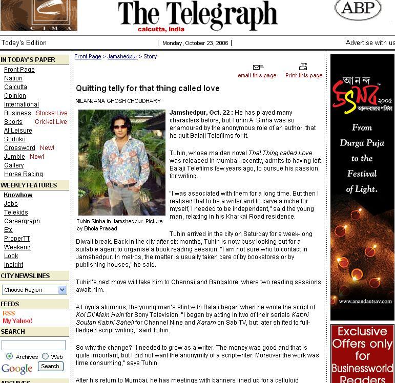 Jamshedpur Telegraph -1