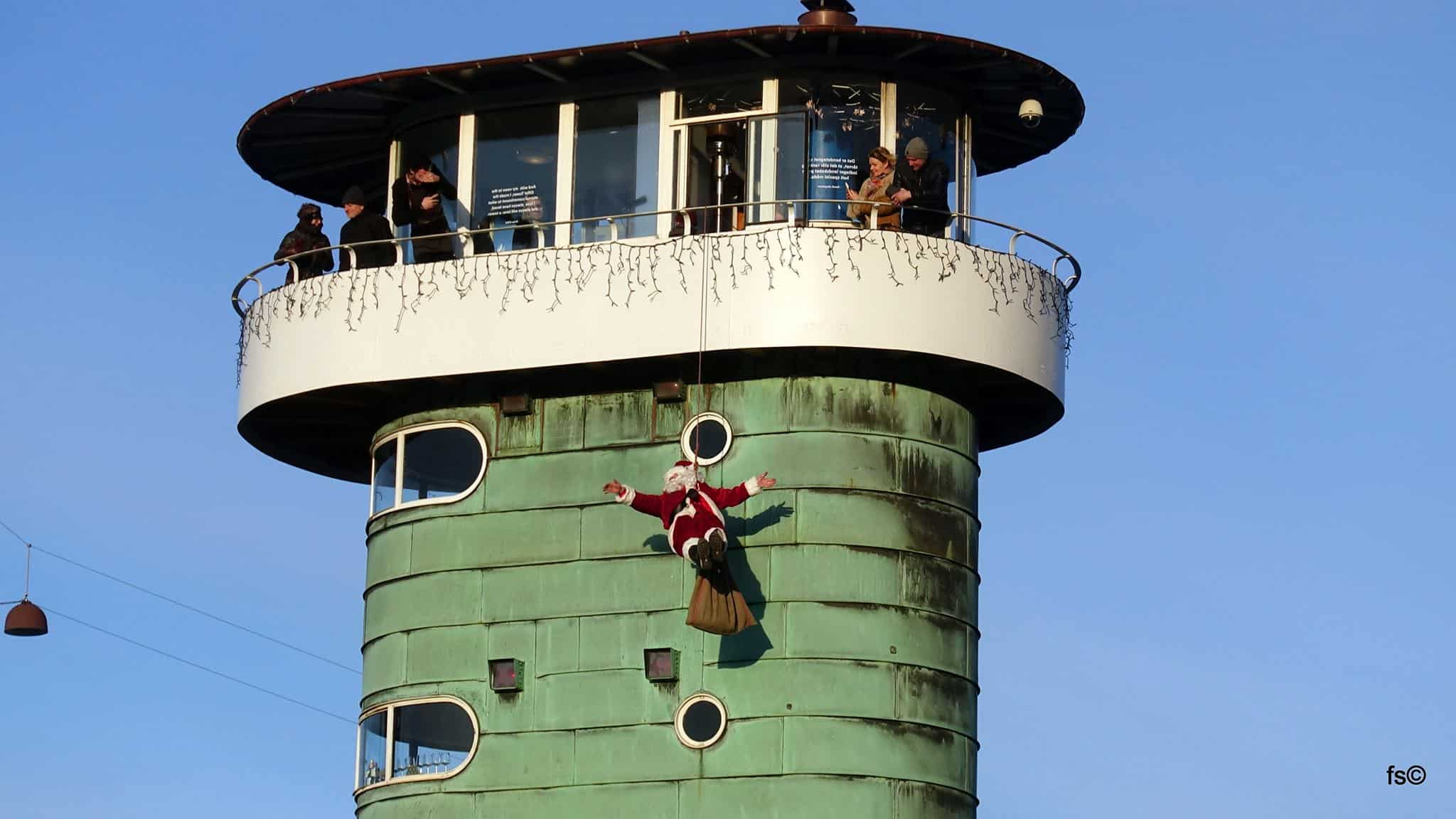 Væk julemanden i Kulturtårnet