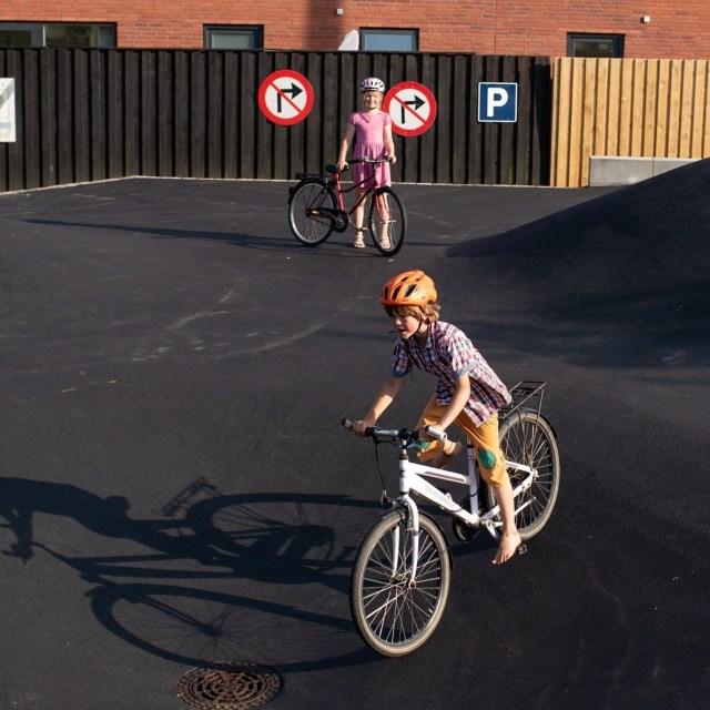 Cykellegeplads på Amager