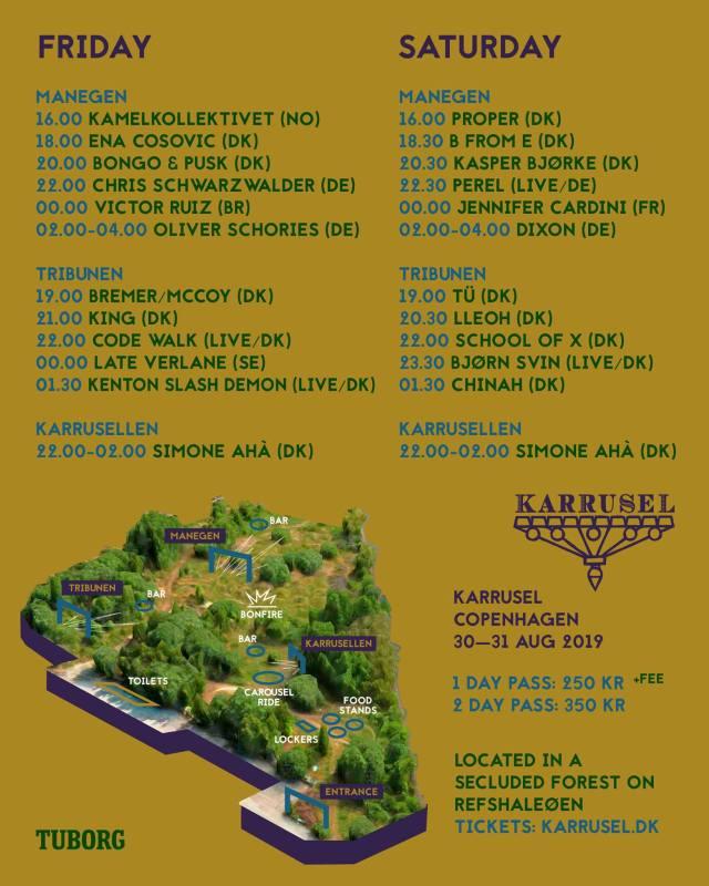 karrusel festival refshaleøen