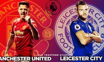 man united vs leceister city