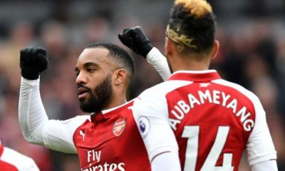 Lacazette and aumaboyang
