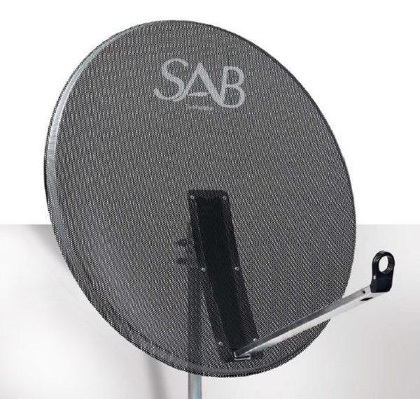 SAB 80 cm Çanak Anten Delikli Offset M80A