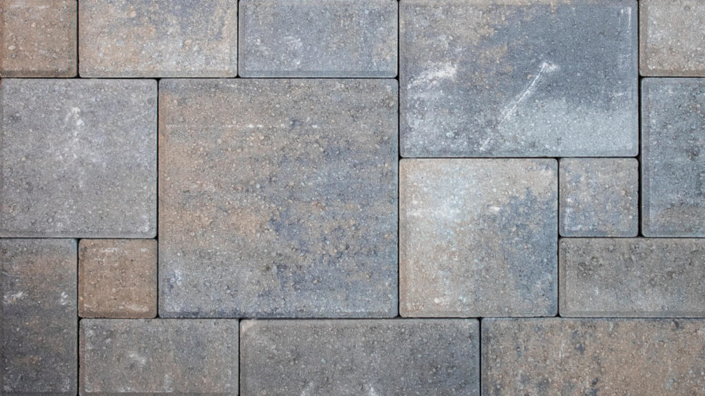 how to lay a perfect paver pattern