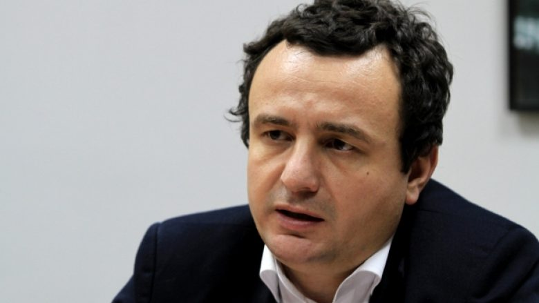 Kurti paraqet nëntë pikat për dialogun me Serbinë