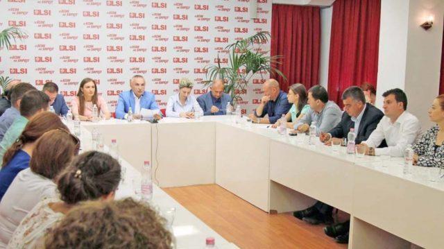 Lista e kandidatëve të LSI së për Tiranën  Meta  Manjani refuzoi