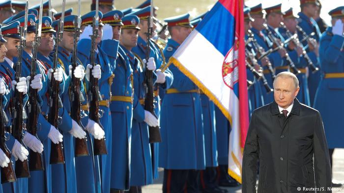 Putin në Beograd  Për stabilitet në Ballkan duhen kompromise