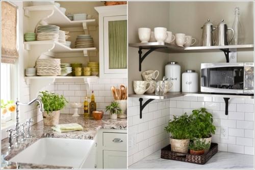 بالصور 15 فكرة ذكية لتنظيم الأغراض في المطبخ