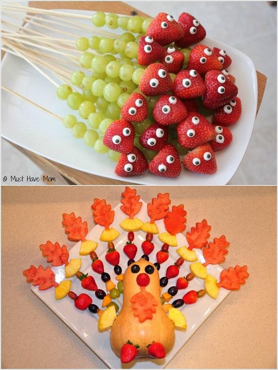 افكار مميزة لتحضير وجبات حفلات الاطفال